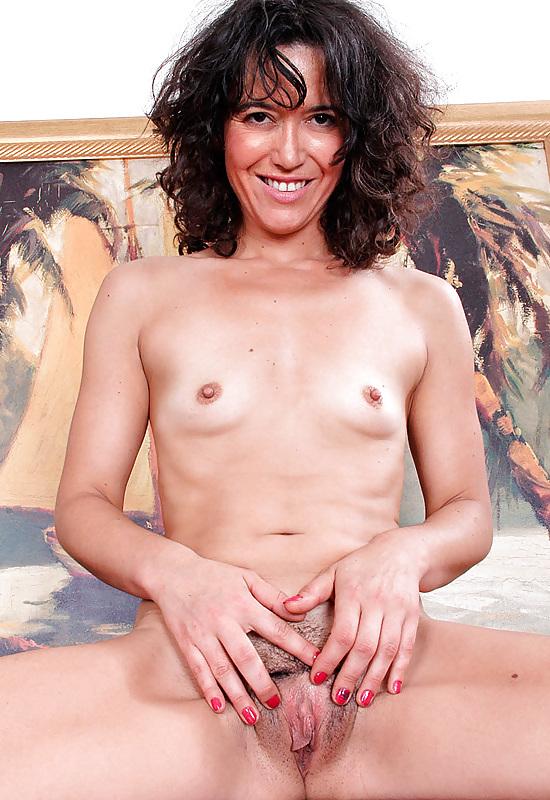 Small mature boob
