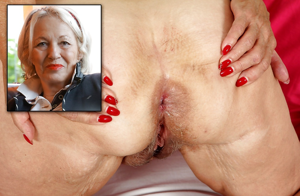 porn pics old lady ass hole