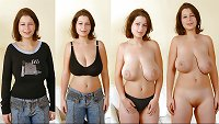 Moms dressed and undressed 5
